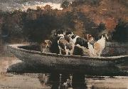 Winslow Homer Waiting for the Start (mk44) oil painting picture wholesale