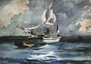 Winslow Homer Sloop Nassau (mk44) oil painting picture wholesale