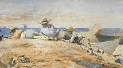 Winslow Homer Three Boys on the Shore (mk44) oil painting picture wholesale