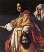 ALLORI  Cristofano Judith with the Head of Holofernes oil painting