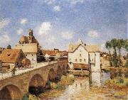 Alfred Sisley The Bridge of Moret oil painting picture wholesale