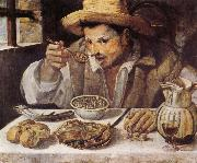 Annibale Carracci The Beaneater oil