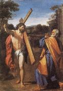 Annibale Carracci Domine,quo vadis oil
