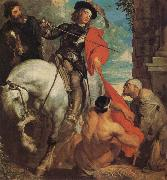 Anthony Van Dyck St Martin Dividing his Cloak oil painting picture wholesale