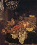 BEYEREN, Abraham van Still Life with Lobster oil painting picture wholesale