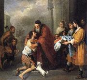 Bartolome Esteban Murillo Return of the Prodigal Son oil painting picture wholesale