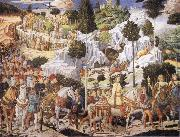 Benozzo Gozzoli Procession of the Magi oil painting artist