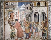 Benozzo Gozzoli The School in Tagaste oil painting artist