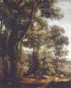 Claude Lorrain Landscape with a goatherd and goats oil painting picture wholesale