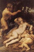 Correggio Zeus and Antiope oil painting reproduction