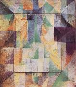 Delaunay, Robert Simultaneous Windows on the City oil painting artist