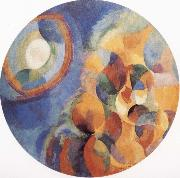Delaunay, Robert Simulaneous Contrasts Sun and Moon oil painting artist