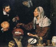 Diego Velazquez Old Woman Cooking Eggs oil painting picture wholesale