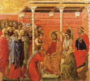 Duccio di Buoninsegna Christ Crowned with Thorns oil painting picture wholesale