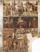 Francesco del Cossa Allegory of the Month of April oil painting artist