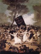 Francisco Jose de Goya The Burial of the Sardine oil painting picture wholesale