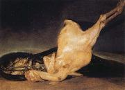 Francisco Jose de Goya Plucked Turkey oil painting picture wholesale