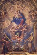 Francisco Rizi Virgin and Child with Sts.Philip and Francis oil painting picture wholesale