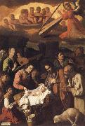 Francisco de Zurbaran Adoration of the Shepherds oil painting picture wholesale