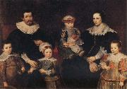 Frans Francken II The Family of the Artist oil painting artist