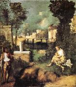Giorgione La Tempesta oil painting picture wholesale