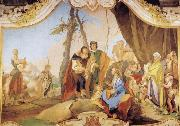 Giovanni Battista Tiepolo Rachel Hiding the Idols from her Father Laban oil painting picture wholesale