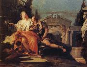 Giovanni Battista Tiepolo Rinaldo and Armida oil painting picture wholesale