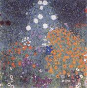 Gustav Klimt Flower Garden oil painting picture wholesale