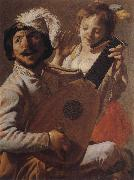 Hendrick Terbrugghen The Duo oil painting picture wholesale