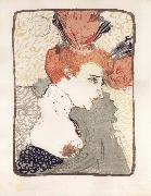 Henri  Toulouse-Lautrec Bust of Marcelle Lender oil painting picture wholesale