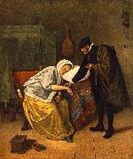 Jan Steen The Doctor and His Patient oil painting picture wholesale
