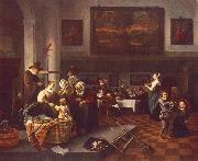 Jan Steen The Christening oil painting picture wholesale