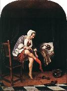 Jan Steen The Morning Toilet oil painting picture wholesale