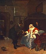 Jan Steen Love Sickness oil painting picture wholesale