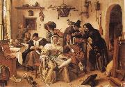 Jan Steen The World Upside Down oil painting picture wholesale