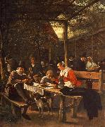 Jan Steen The Picnic oil painting picture wholesale