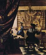 Jan Vermeer Allegory of Painting oil painting picture wholesale