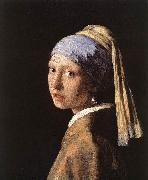 JanVermeer Girl with a Pearl Earring oil painting picture wholesale