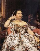 Jean-Auguste Dominique Ingres Madame Motessier Seated oil painting artist