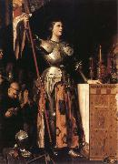 Jean-Auguste Dominique Ingres Joan of Arc at the Coronation of Charles VII in Reims oil painting artist