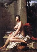 Jean-Baptiste Santerre Susanna at the Bath oil