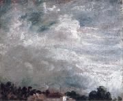 John Constable horizon of trees 27September 1821 oil painting picture wholesale