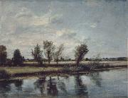 John Constable Water-meadow near Salisbury oil painting picture wholesale