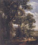 John Constable Landscape with goatherd and goats after Claude 1823 oil painting picture wholesale