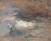 John Constable Evening oil painting picture wholesale