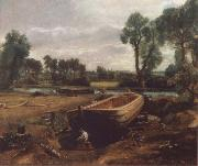 John Constable Boat-building near Flatford Mill oil painting picture wholesale
