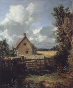 John Constable A cottage in a cornfield oil painting picture wholesale