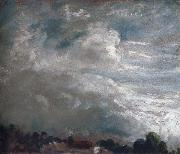 John Constable Cloud study,horizon of trees 27 September 1821 oil painting picture wholesale