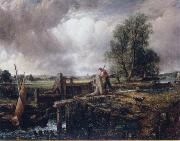 John Constable A boat passing a lock oil painting reproduction
