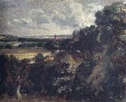 John Constable Dedham from near Gun Hill,Langham oil painting picture wholesale
